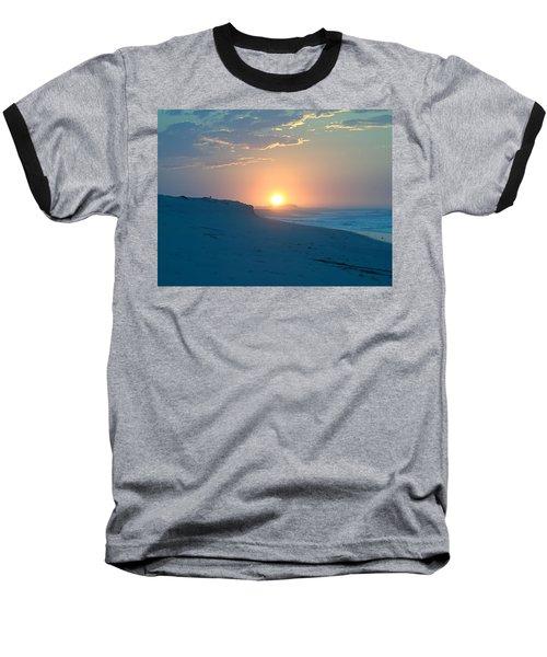 Baseball T-Shirt featuring the photograph Sun Dune by  Newwwman