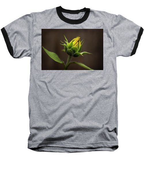 Sun Flower Blossom Baseball T-Shirt