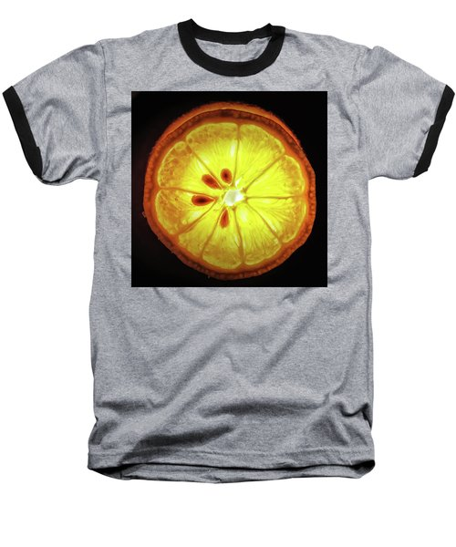 Sun Lemon Baseball T-Shirt