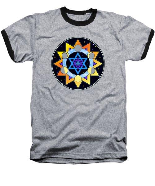 Sun, Moon, Stars Baseball T-Shirt