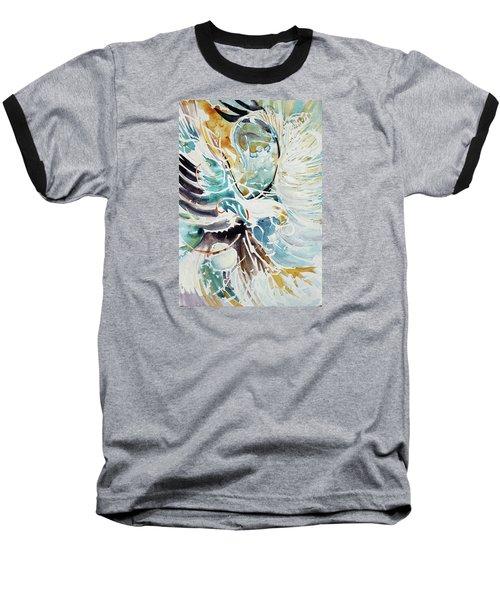 Sun Moon Water Sky Baseball T-Shirt
