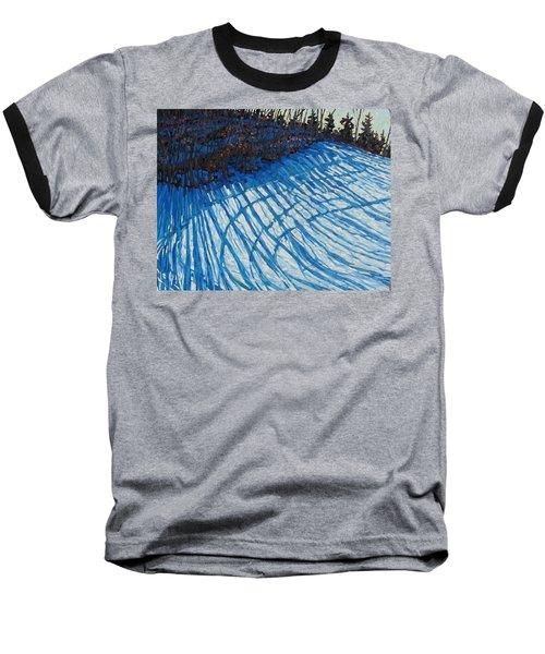 Sun Of Winter Shadows Baseball T-Shirt