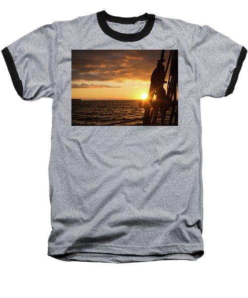 Sun On The Horizon Baseball T-Shirt