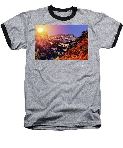 Sun On The Mountain Baseball T-Shirt