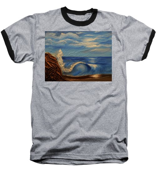 Sun Over The Ocean Baseball T-Shirt