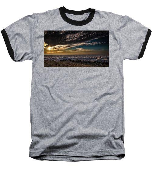 Sun Peeks Through Baseball T-Shirt