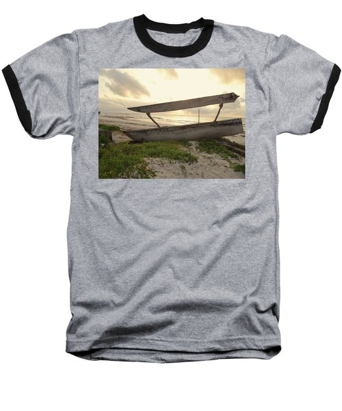 Sun Rays And Wooden Dhows Baseball T-Shirt