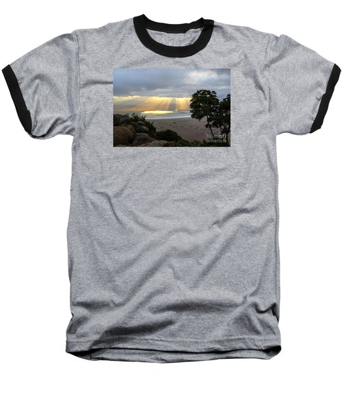 Baseball T-Shirt featuring the photograph Sun Rays by Pravine Chester