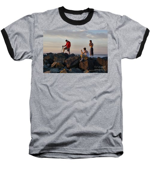 Sun Set Shooters Baseball T-Shirt
