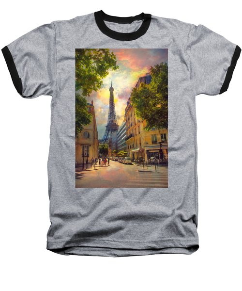 Sun Setting Baseball T-Shirt