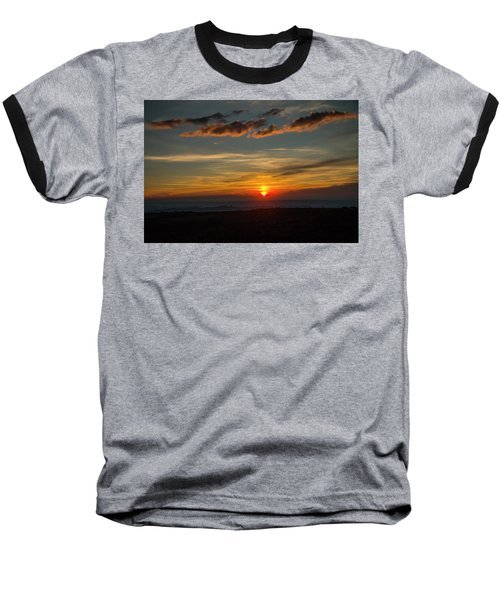 Sun Settling Into The Canyons Baseball T-Shirt