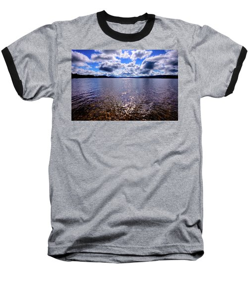 Baseball T-Shirt featuring the photograph Sun Shining Over Palmer Point by David Patterson