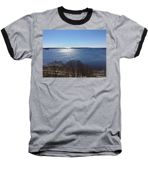 Sun Shiny Casco Bay Baseball T-Shirt