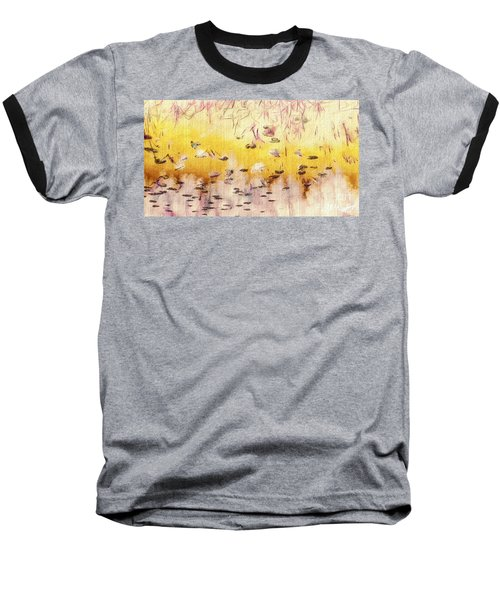 Sun Shower Baseball T-Shirt by William Wyckoff