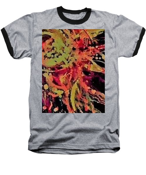 Sun Burst Iv Baseball T-Shirt