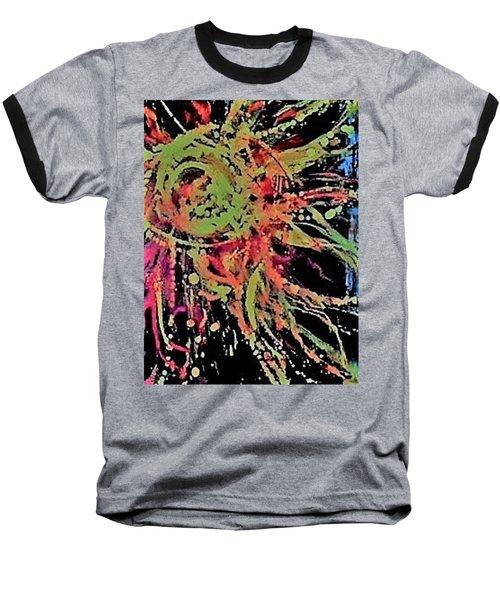 Sun Burst II Baseball T-Shirt