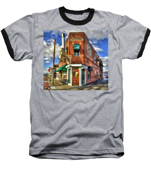 Sun Studio Rock N Roll Birthing Place Memphis Tennessee Art Baseball T-Shirt