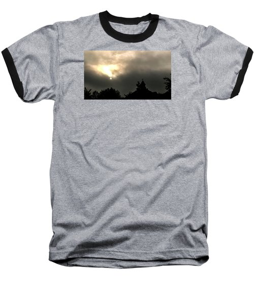 Sun Through Fog Baseball T-Shirt
