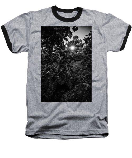 Sun Through The Trees Baseball T-Shirt by Paul Seymour