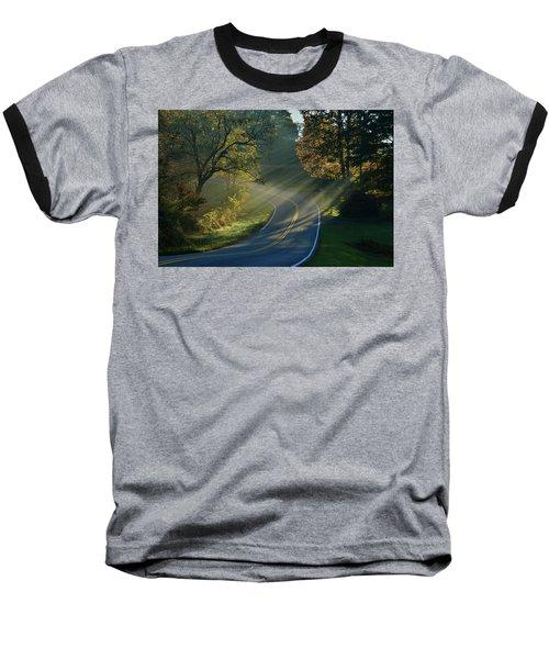Sun-up On Conners Grove Baseball T-Shirt