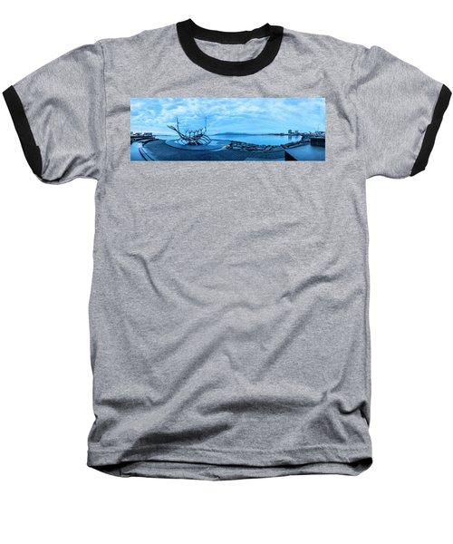 Sun Voyager Viking Ship In Iceland Baseball T-Shirt by Joe Belanger