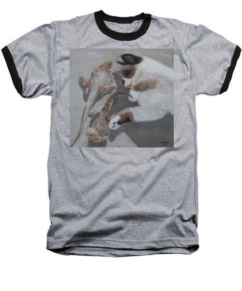 Sunbathers Baseball T-Shirt