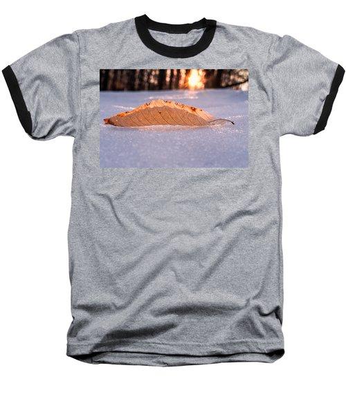 Sunbathing Baseball T-Shirt by Craig Szymanski