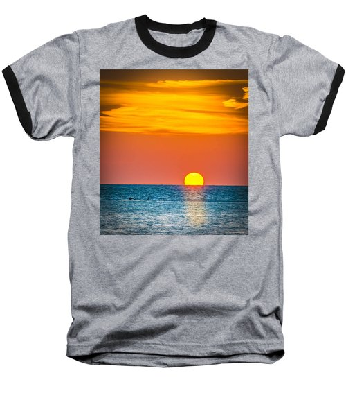 Sunbathing Baseball T-Shirt