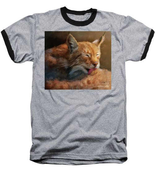 Baseball T-Shirt featuring the photograph Sunbathing by Lois Bryan