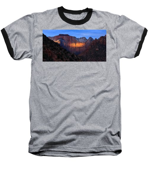 Sunbeam, Towers Of The Virgin, Zion Baseball T-Shirt