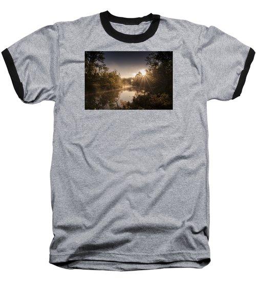 Sunbeams  Baseball T-Shirt by Annette Berglund