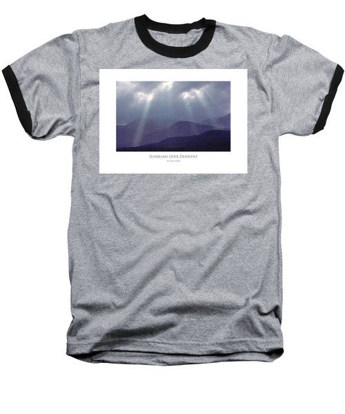 Sunbeams Over Derwent Baseball T-Shirt