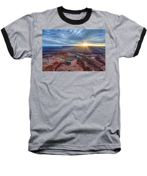 Sunburst At Dead Horse Point Baseball T-Shirt