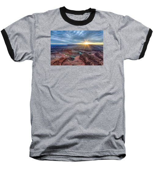 Sunburst At Dead Horse Point Baseball T-Shirt