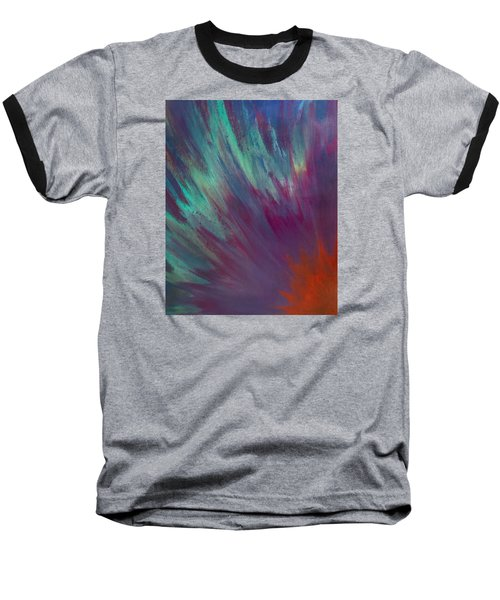 Sunburst Aura Baseball T-Shirt