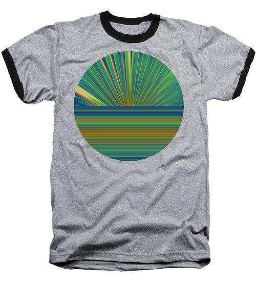 Sunburst Baseball T-Shirt by Michelle Calkins