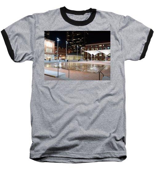 Sundance Square Fort Worth 3 Baseball T-Shirt