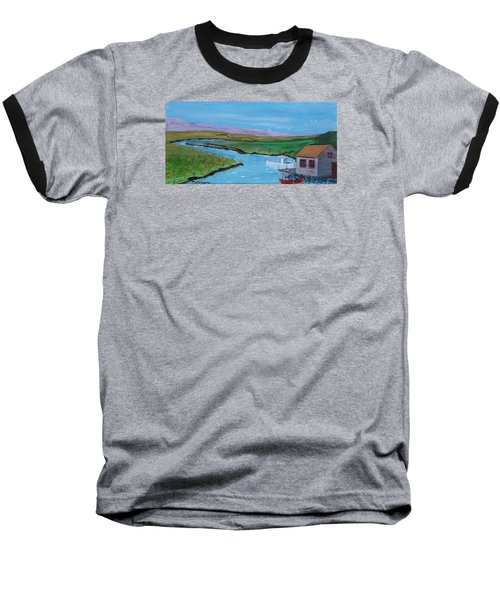 Sunday Afternoon On The California Delta Baseball T-Shirt by Mike Caitham