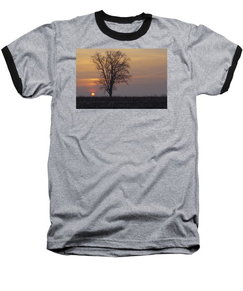 Sunday At Dawn Baseball T-Shirt by Cesare Bargiggia