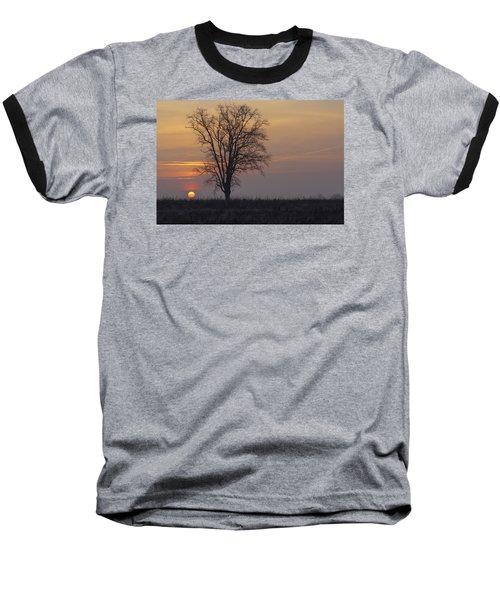 Sunday At Dawn Baseball T-Shirt