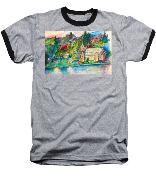 Sunday Evening In Skaneateles Ny Baseball T-Shirt