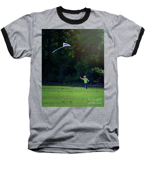Sunday Funday At Honor Heights In Vertical Baseball T-Shirt