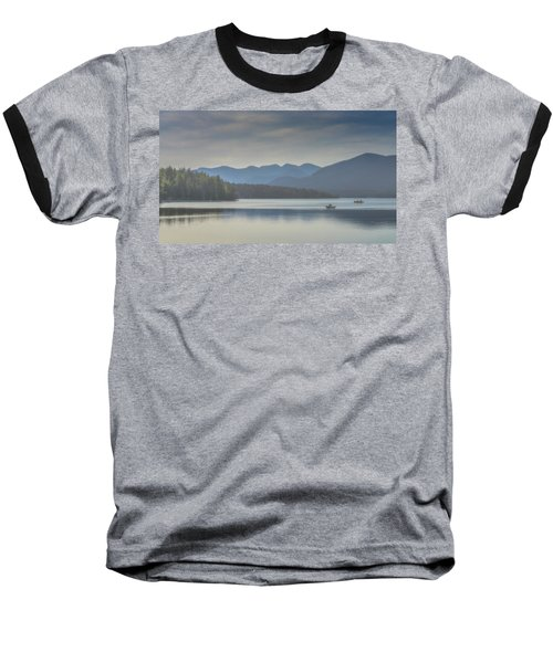 Baseball T-Shirt featuring the photograph Sunday Morning Fishing by Chris Lord