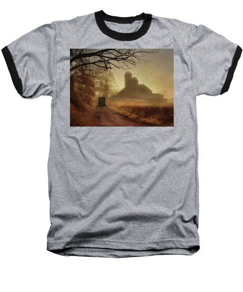 Sunday Morning Baseball T-Shirt by Lori Deiter