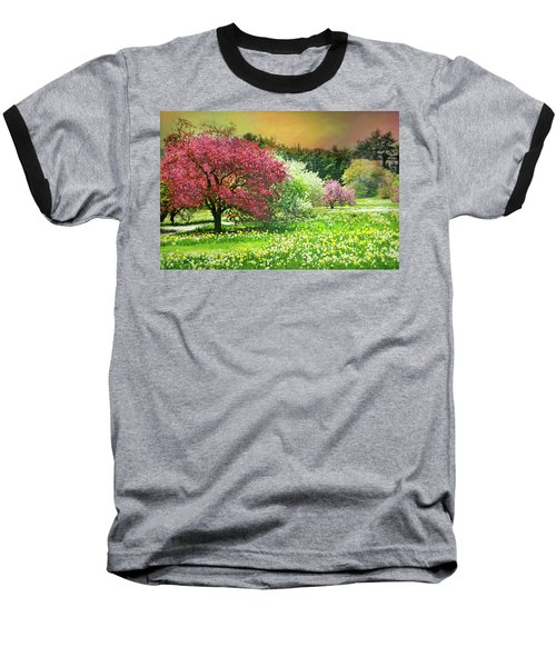 Baseball T-Shirt featuring the photograph Sunday My Day by Diana Angstadt