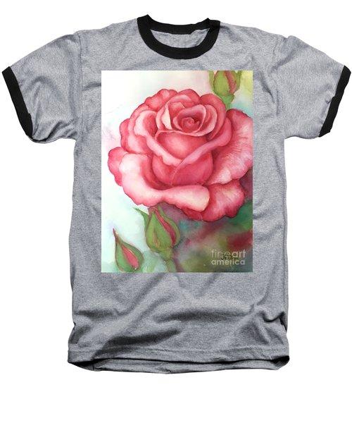 Sunday Rose Baseball T-Shirt