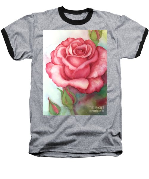 Sunday Rose Baseball T-Shirt