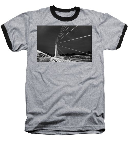 Sundial Bridge 2 Baseball T-Shirt