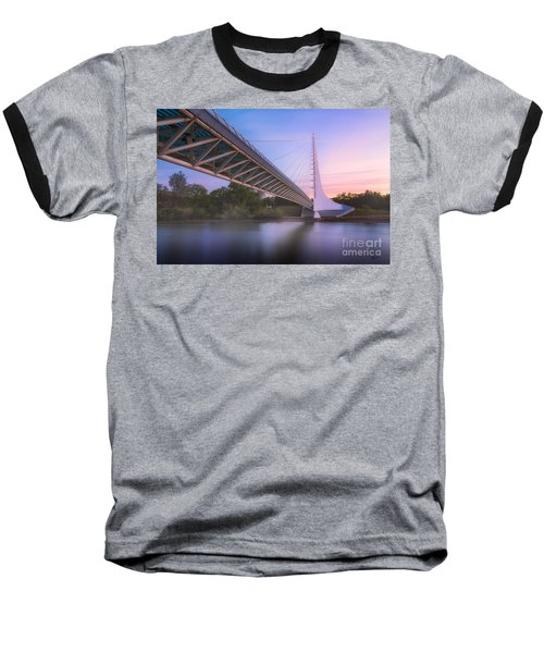 Sundial Bridge 6 Baseball T-Shirt