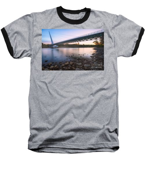 Sundial Bridge 7 Baseball T-Shirt